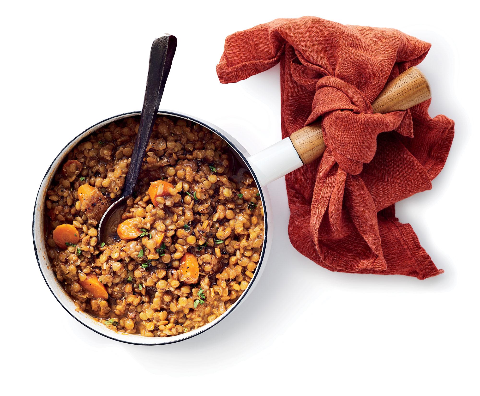 A Perfect Pot of Lentils