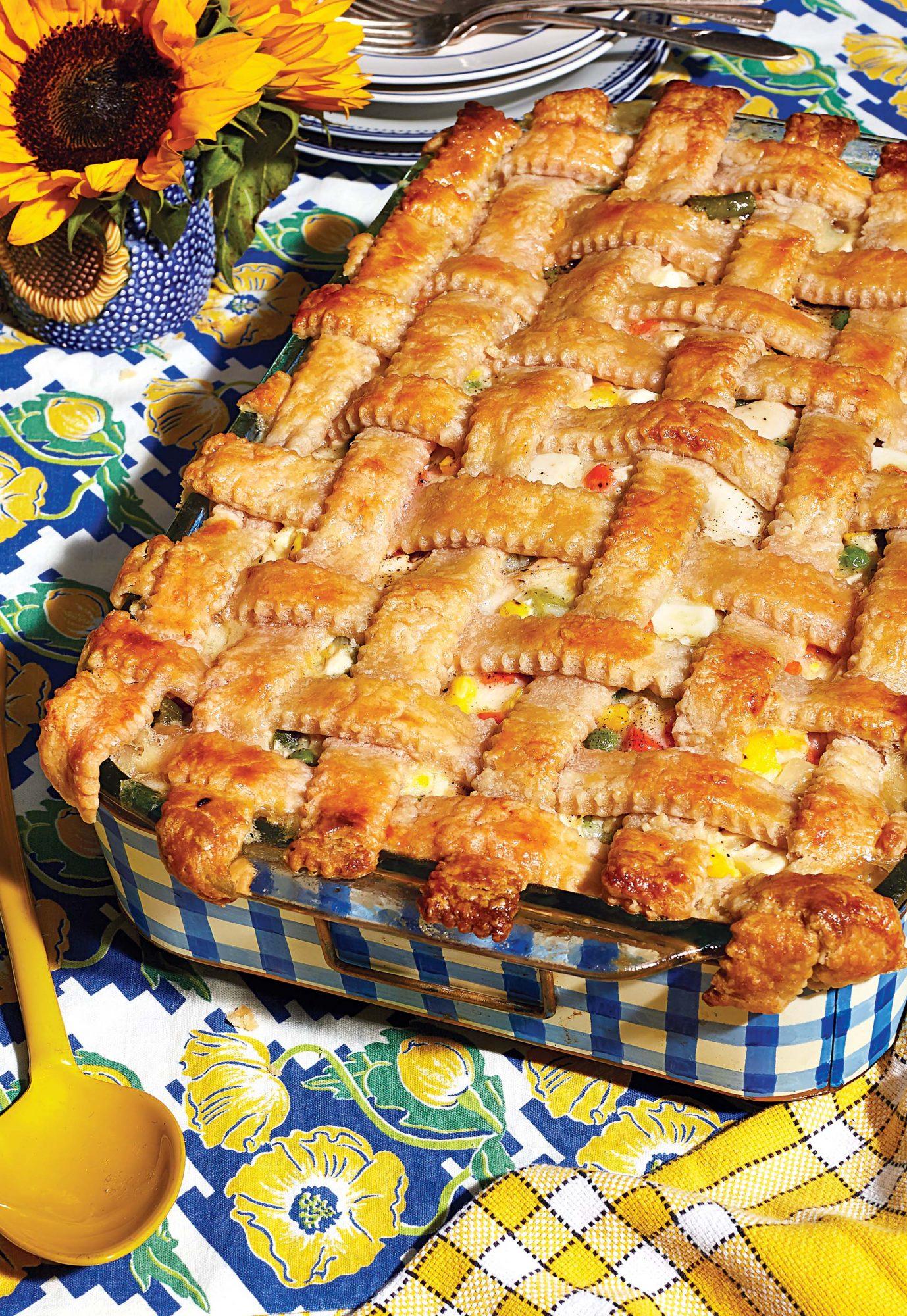 chicken pot pie image