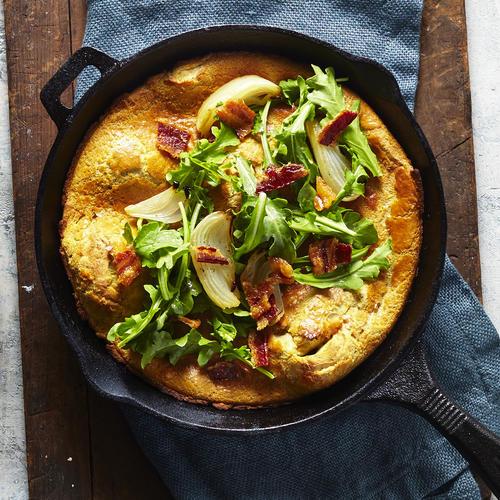 Meet Your New Favorite Fall Breakfast: The *Savory* Pumpkin Spice Pancake