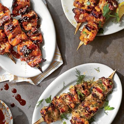 Perfect Chicken Kabobs