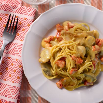 VELVEETA® Easy Spicy Chicken Spaghetti[Ad]