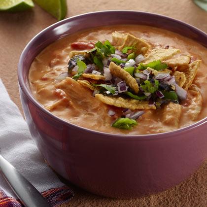 VELVEETA® Cheesy Tortilla Soup[Ad]