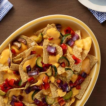 VELVEETA® Grilled Vegetable Nachos[Ad]