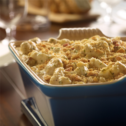 Better Than Bouillon® Roasted Cauliflower with Bacon & Asiago [Ad]