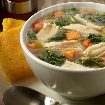 Better Than Bouillon® Roasted Chicken, Kale & Sweet Potato Stew [Ad]