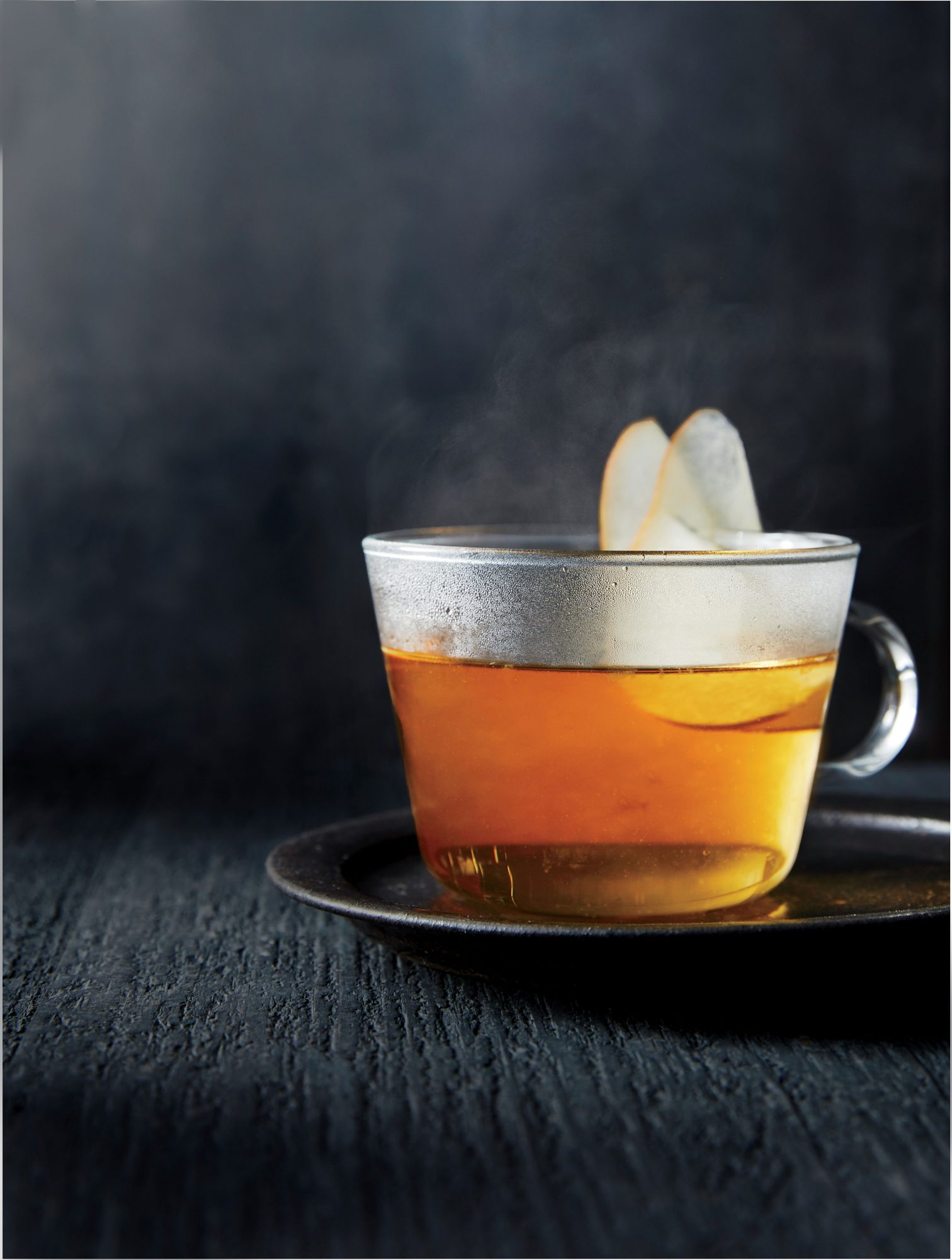 Lemon-Pear Toddy