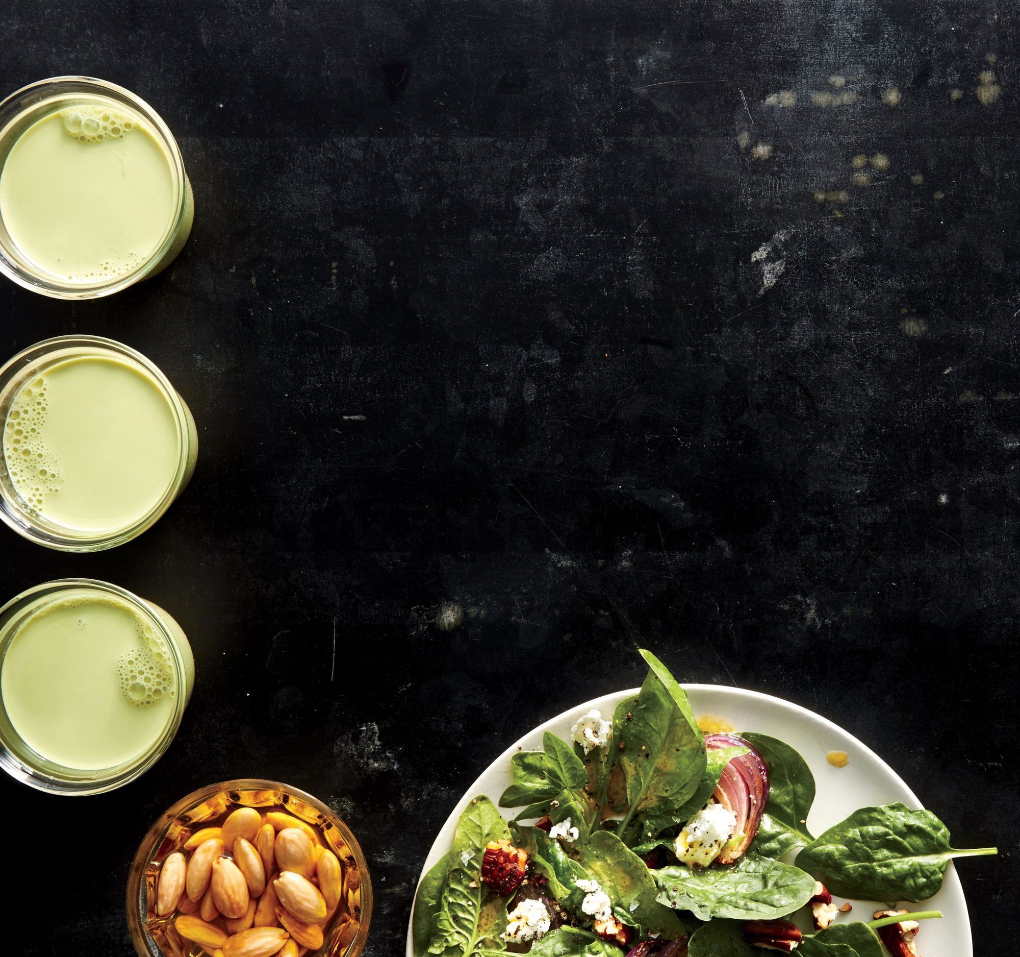 Spinach Salad with Smoked Pecan Vinaigrette