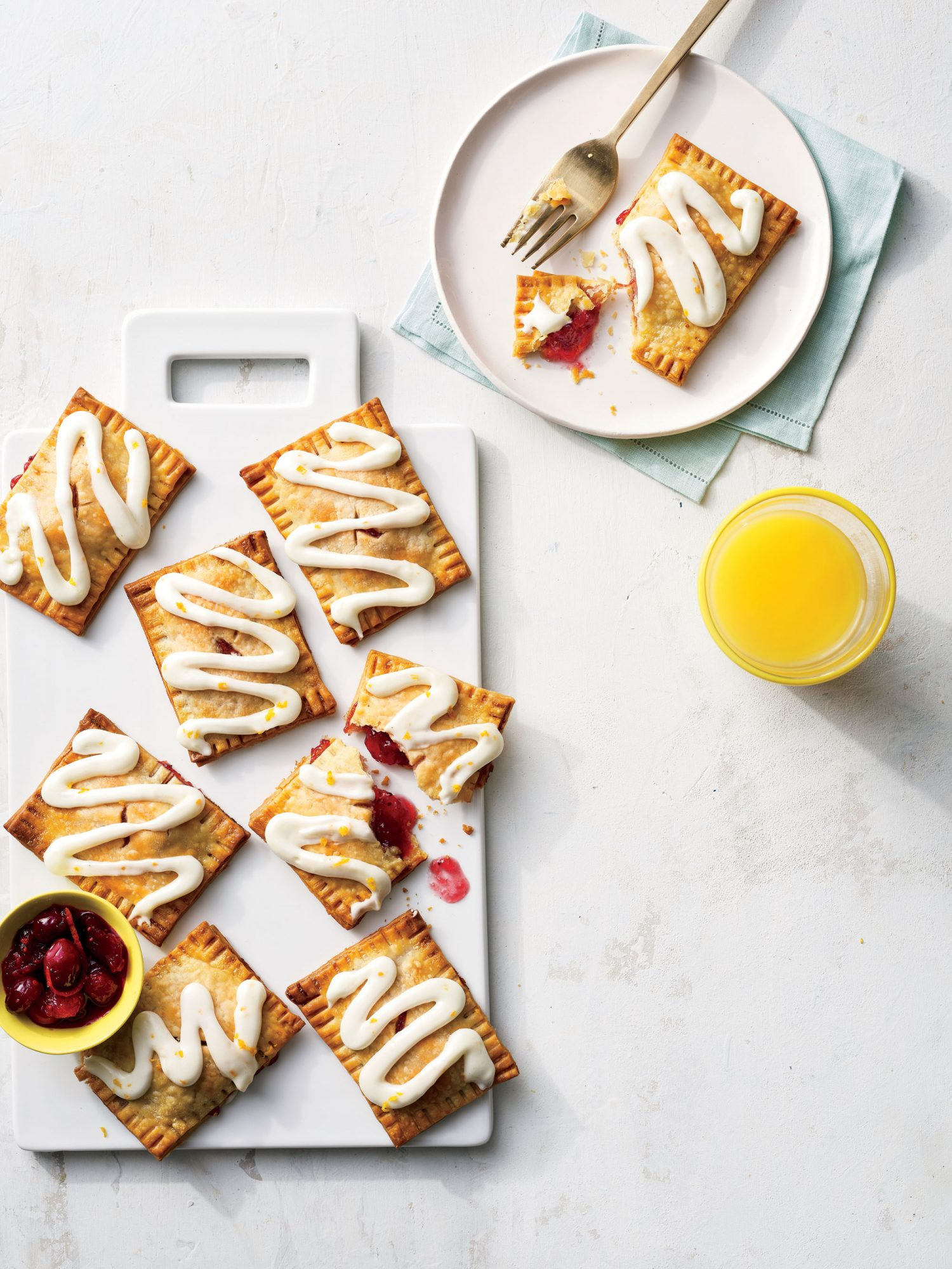 Cranberry Breakfast Pastries