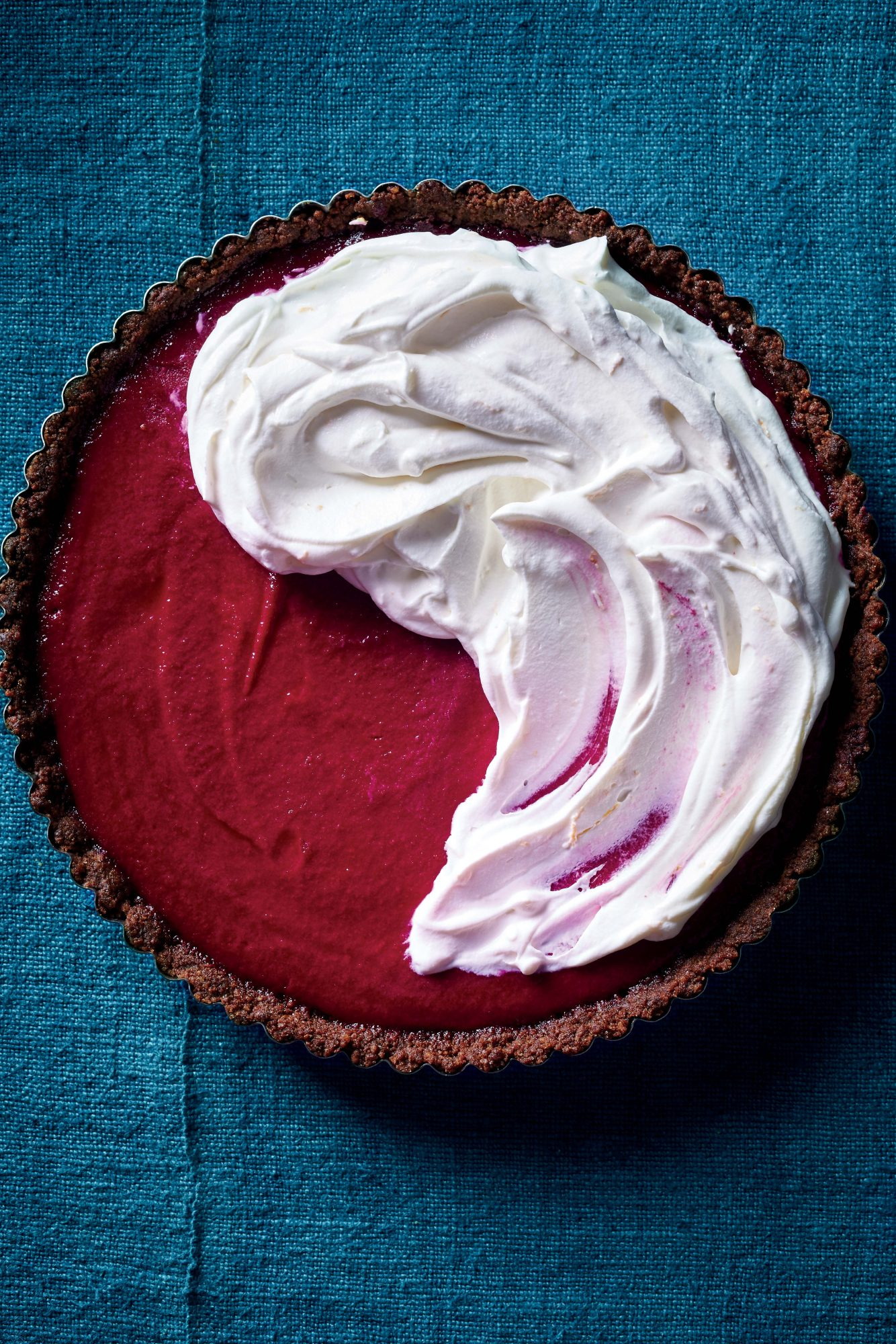 Can't-Be-Beet Tart With Goat Cheese