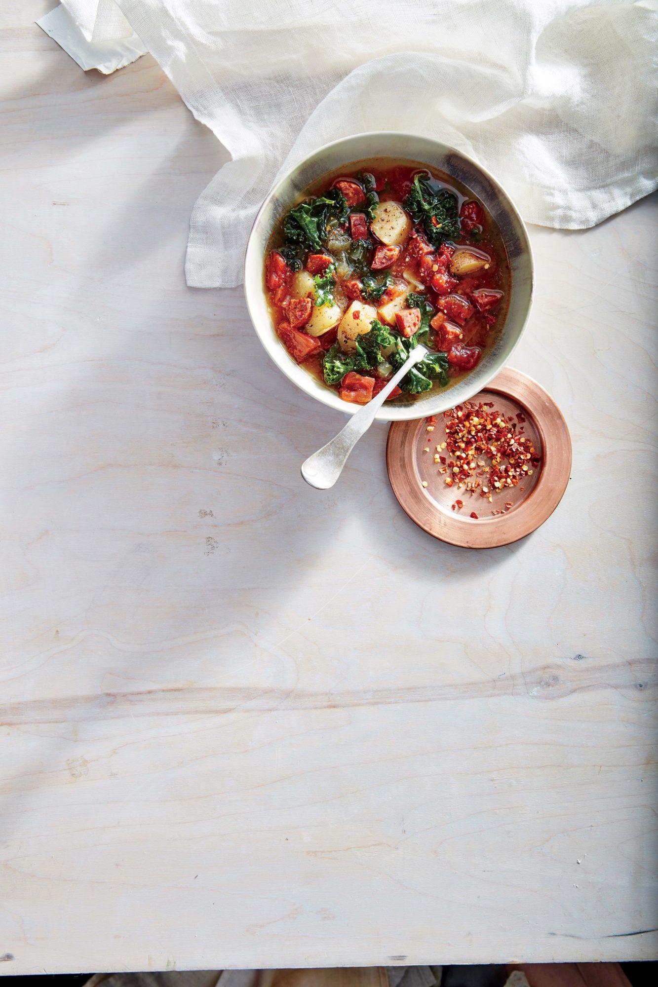 Kale-and-Chorizo Soup