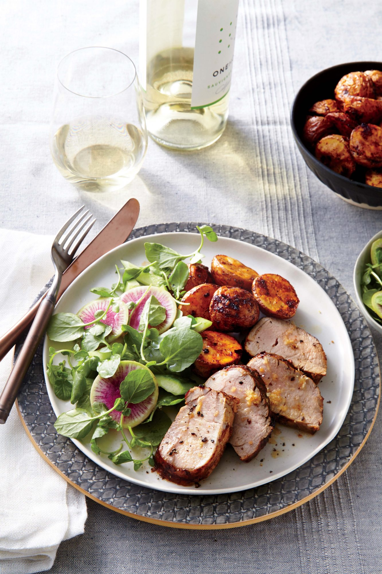 Ginger-Honey Glazed Pork Tenderloin