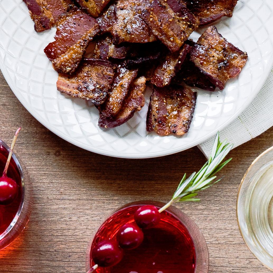 Brown-Sugar Bacon Bites