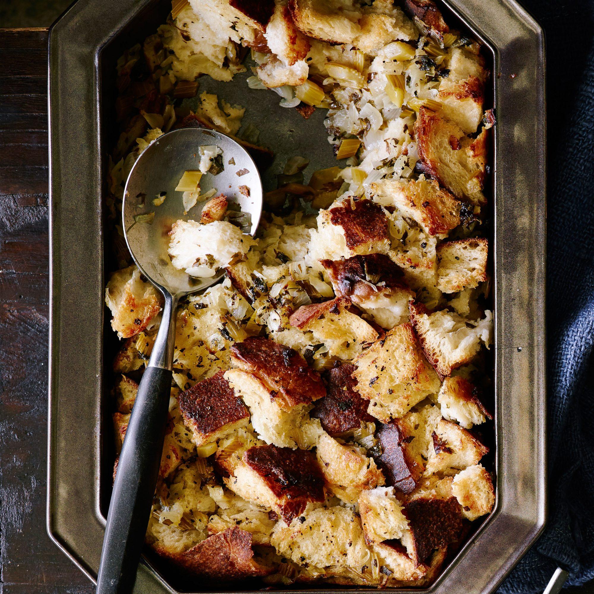 Crisp Top Sourdough Stuffing