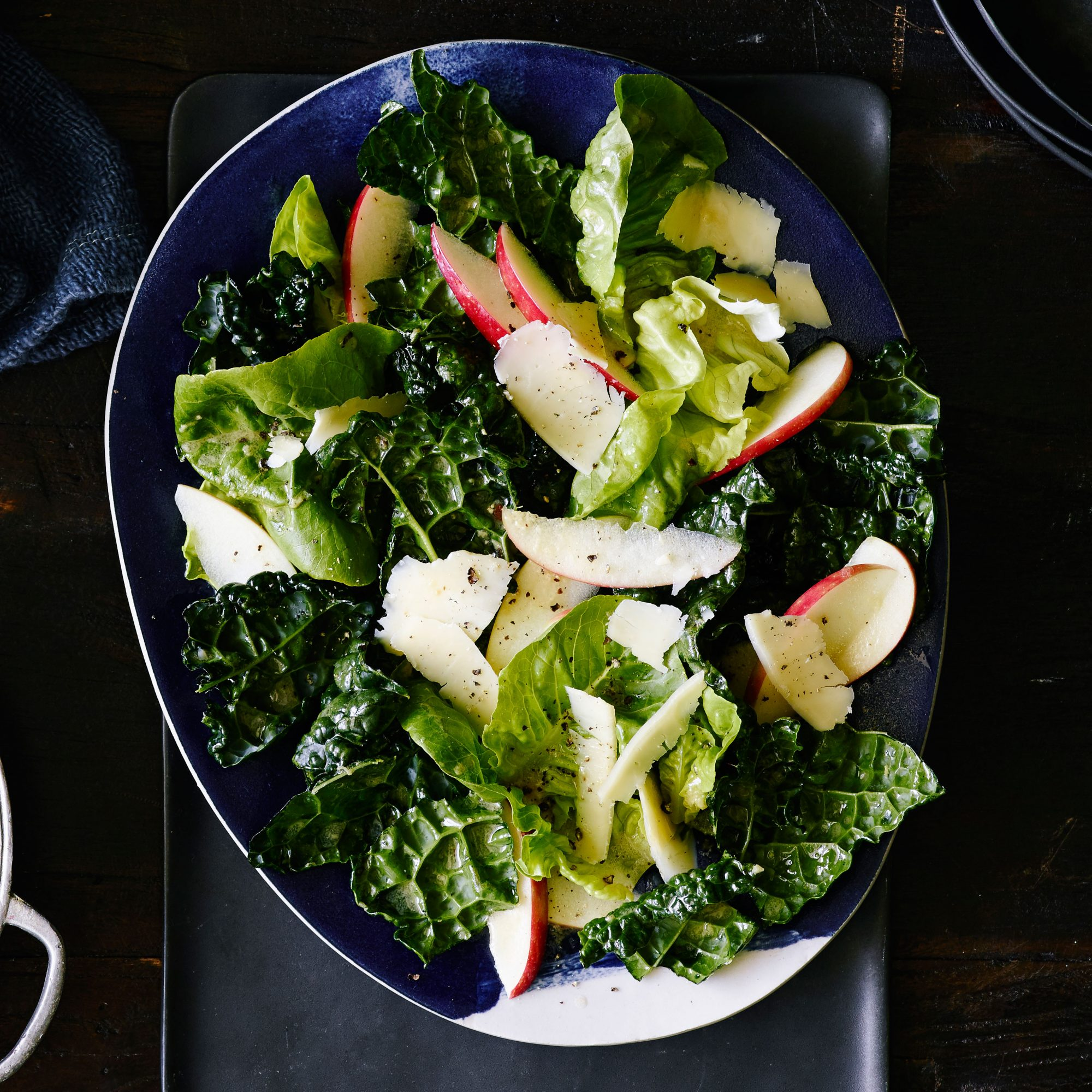 Fall Greens and Apple Salad