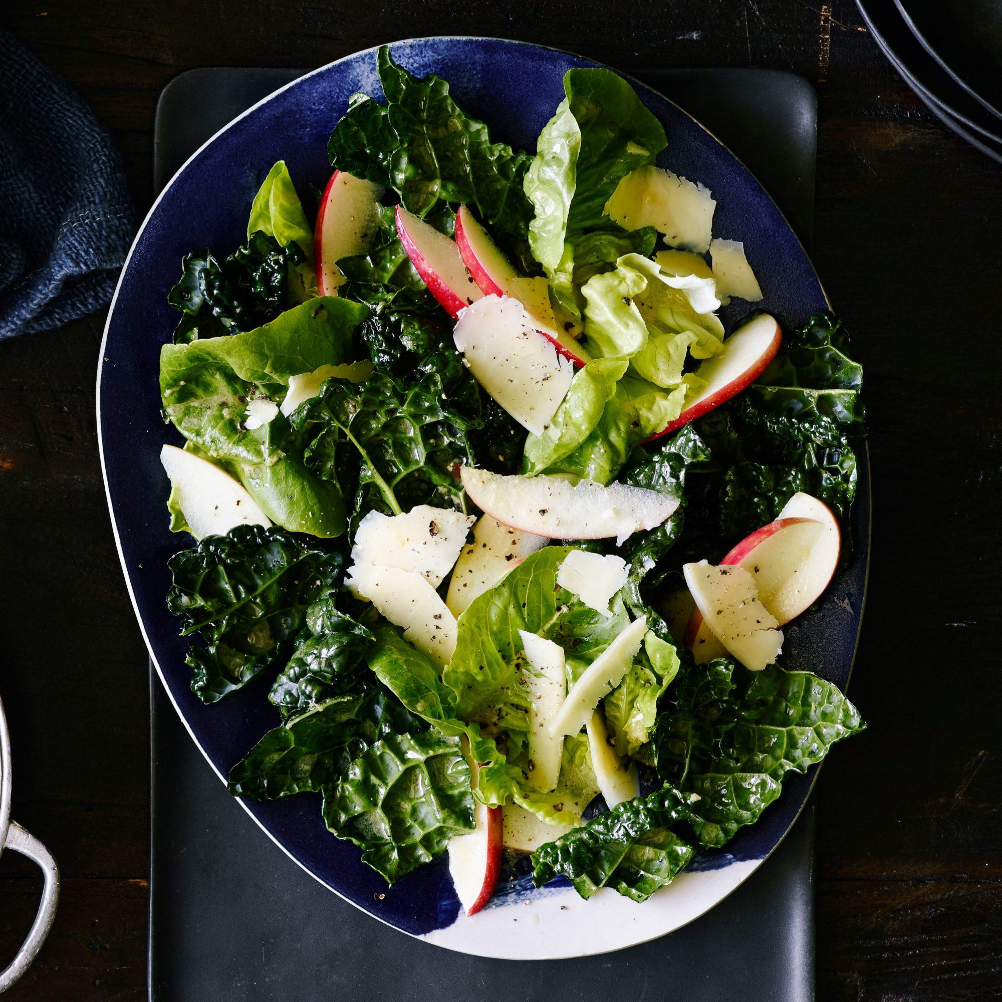 Fall Greens and Apple Salad