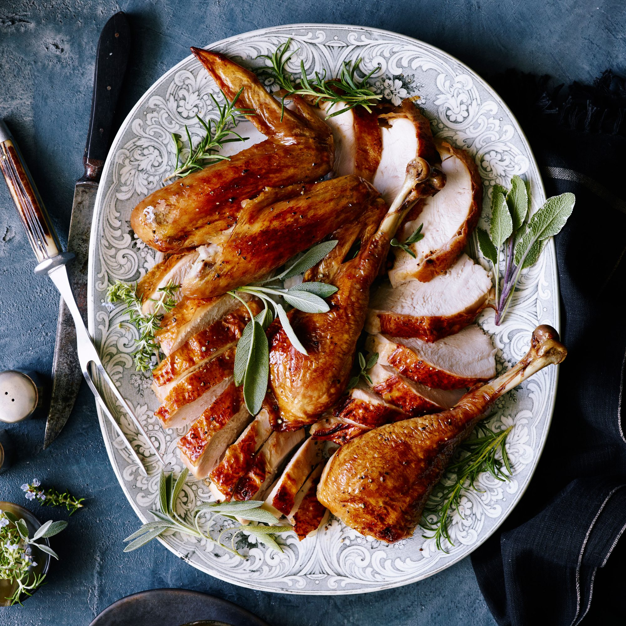 Grilled Butterflied Turkey