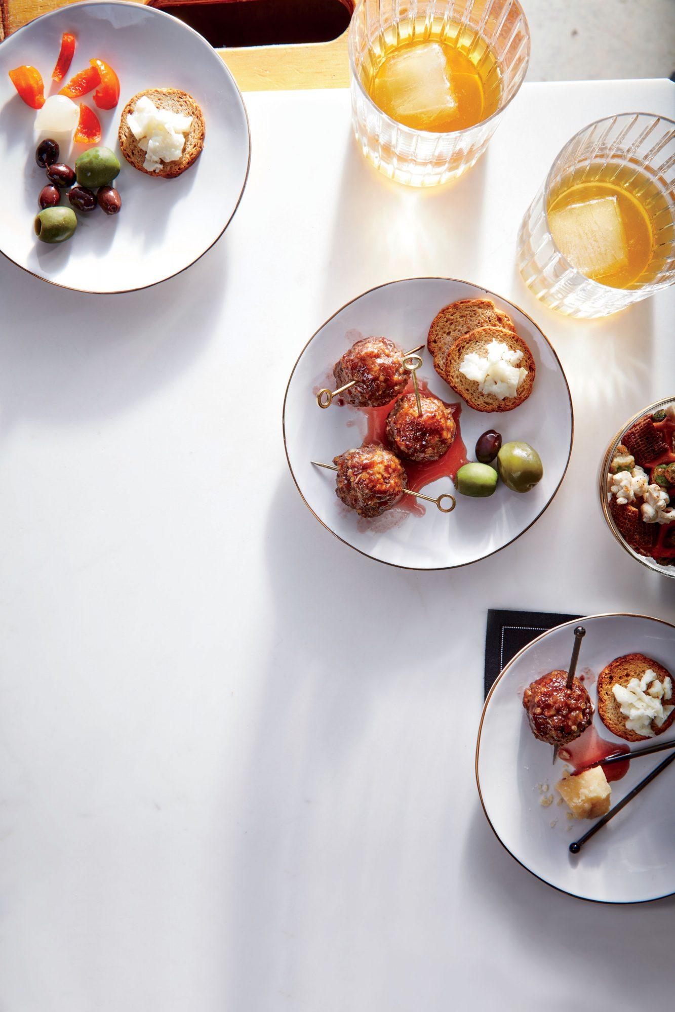Glazed Cocktail Meatballs image