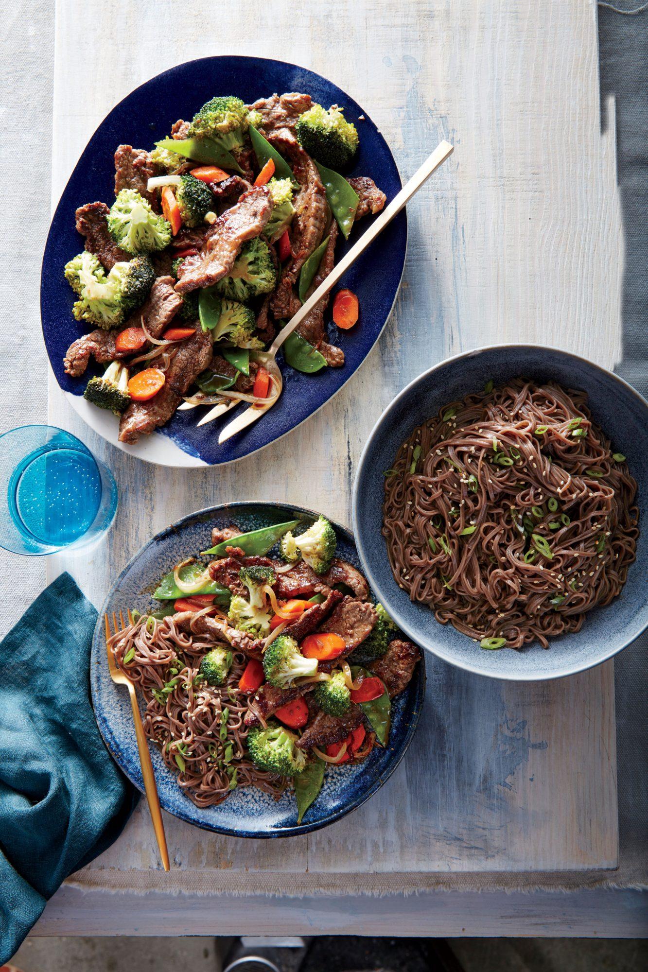 Sesame Soba Noodles image