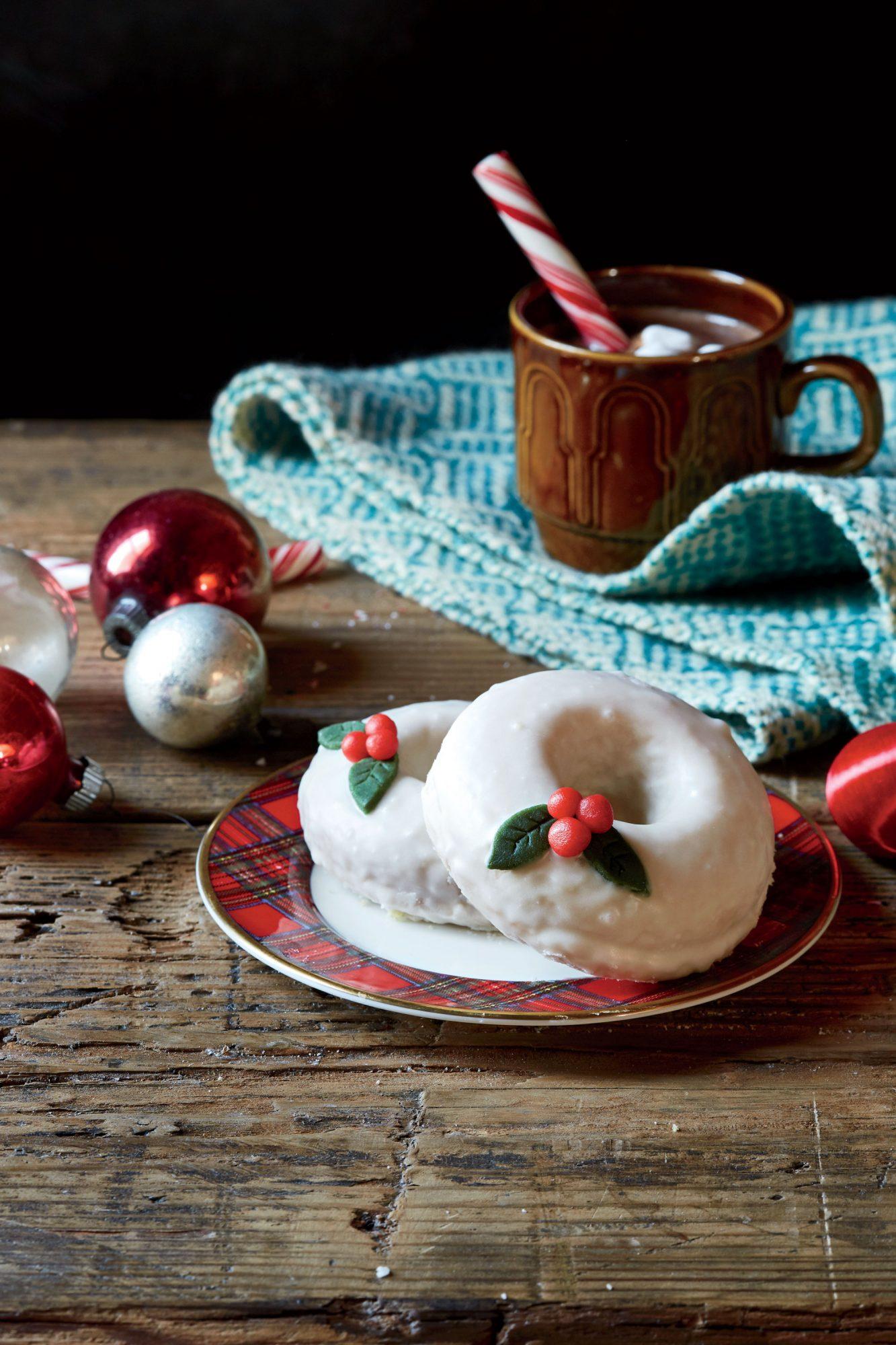 Baked Marzipan Donuts image