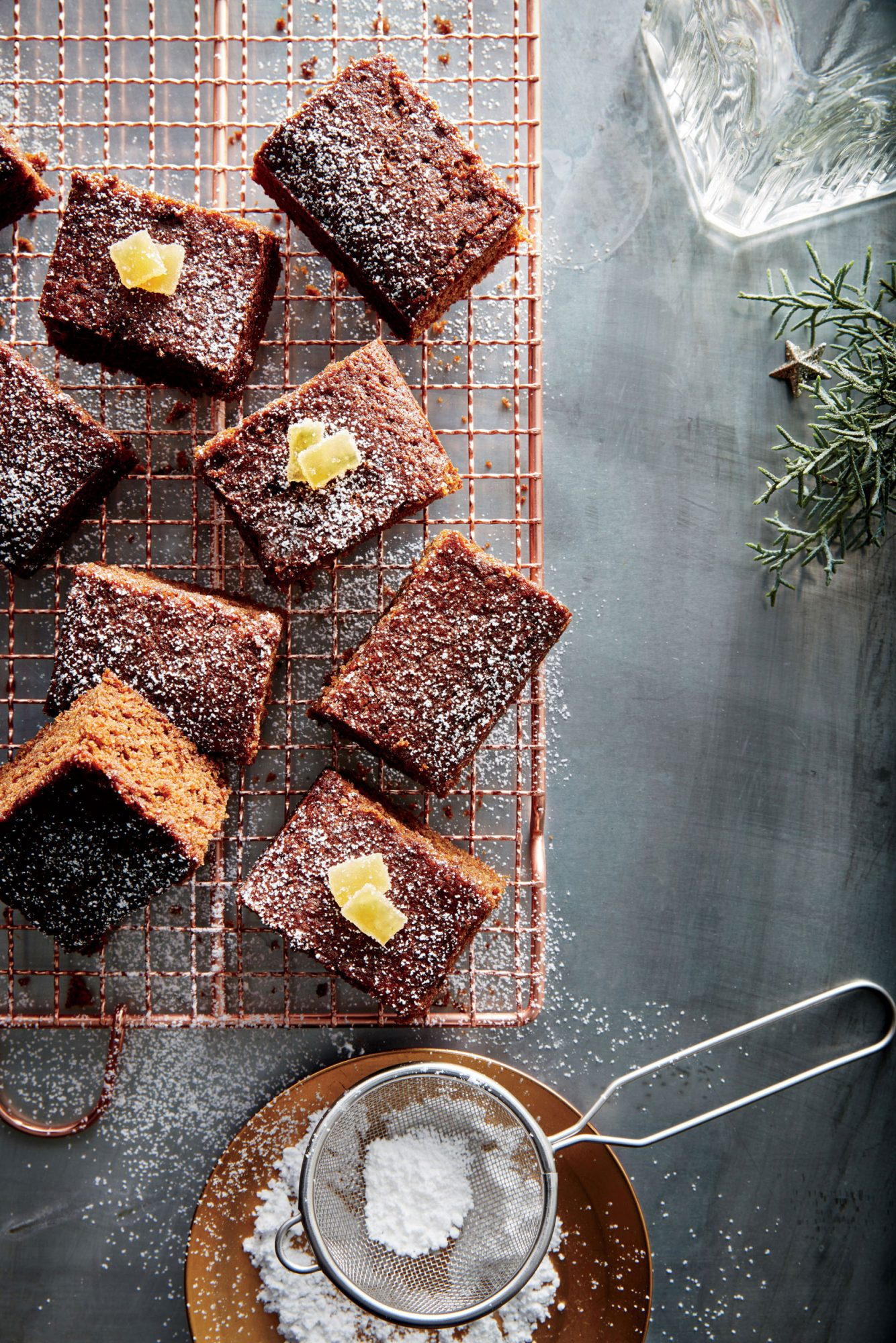 Fresh Gingerbread Squares image