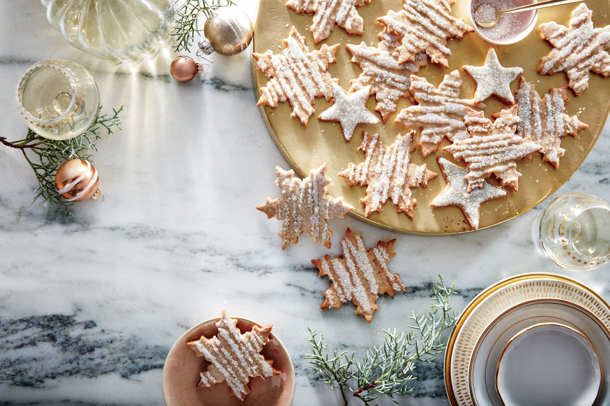 Iced Whole-Wheat Sugar Cookies image