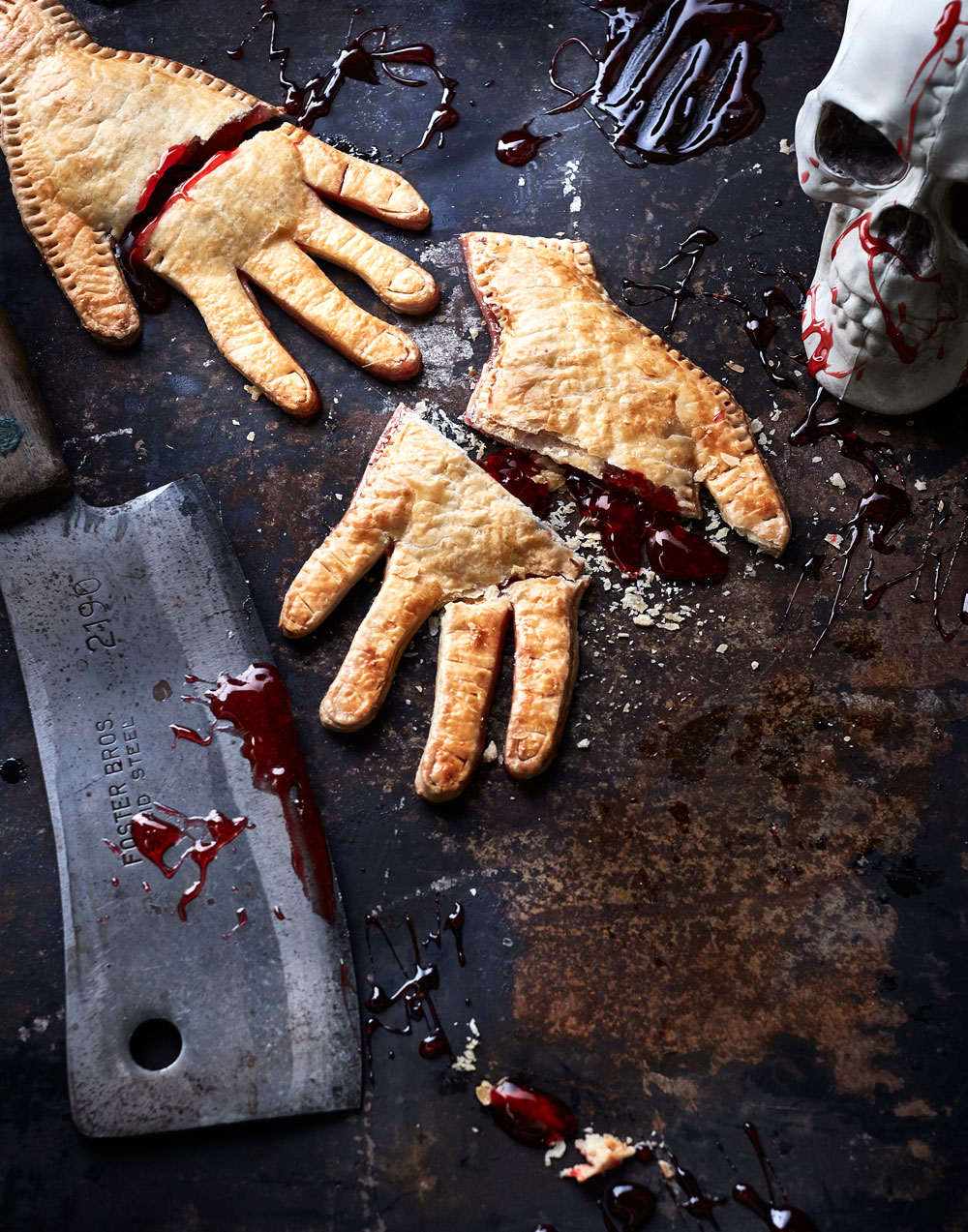 Kick Off Your Halloweekend with Severed Hand Pies