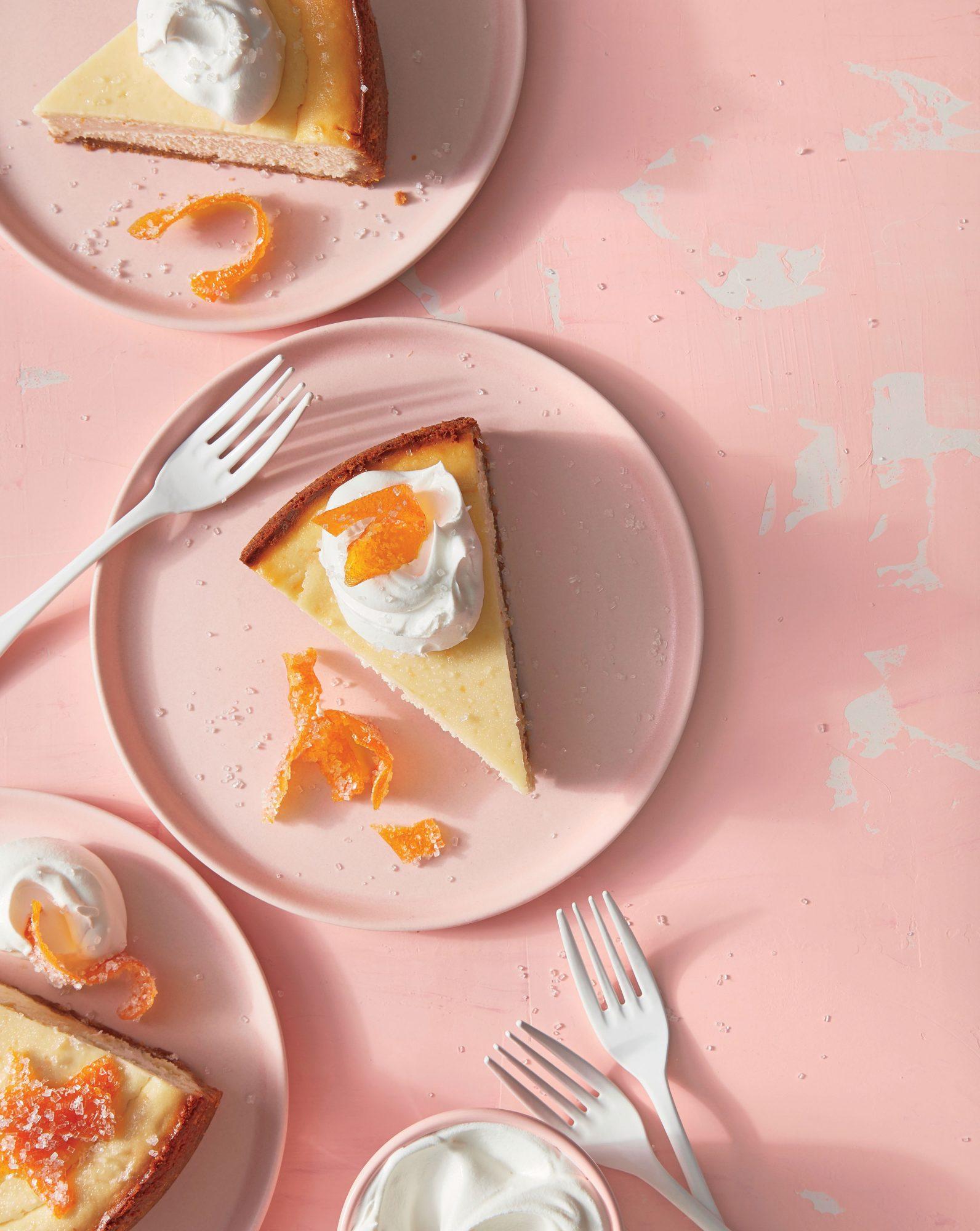 Gingered-Grapefruit Cheesecake image