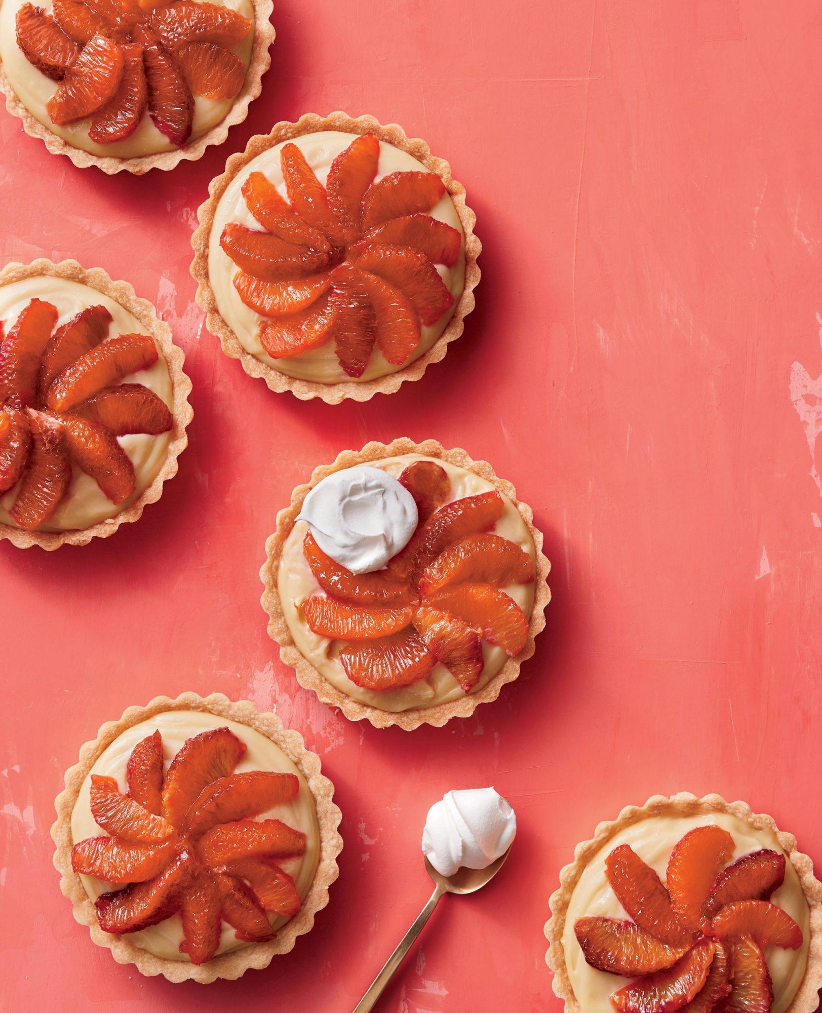 Blood Orange Tartlets image