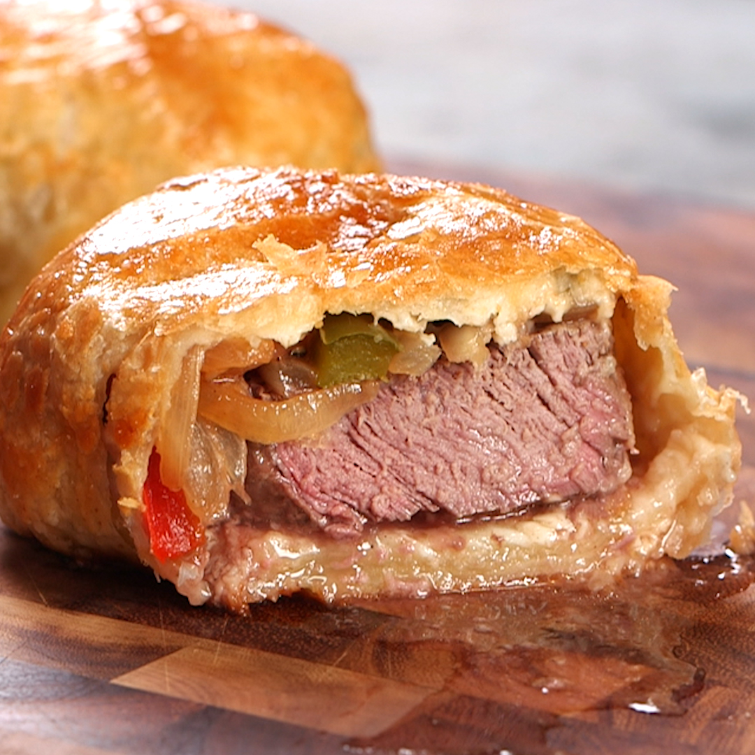 <p>Individual Beef Phillyngtons</p>