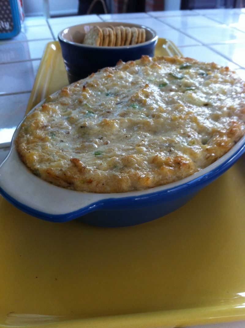 Mardi Gras Munchies: Hot Crab Dip