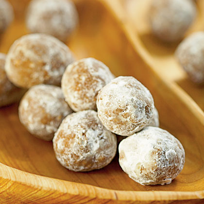 Bourbon Balls RecipeNeed an easy dessert for holiday guests or potluck parties? Spice things up with these simple sweets that come together in no time. For less intense bourbon flavor, prepare at least one week ahead.