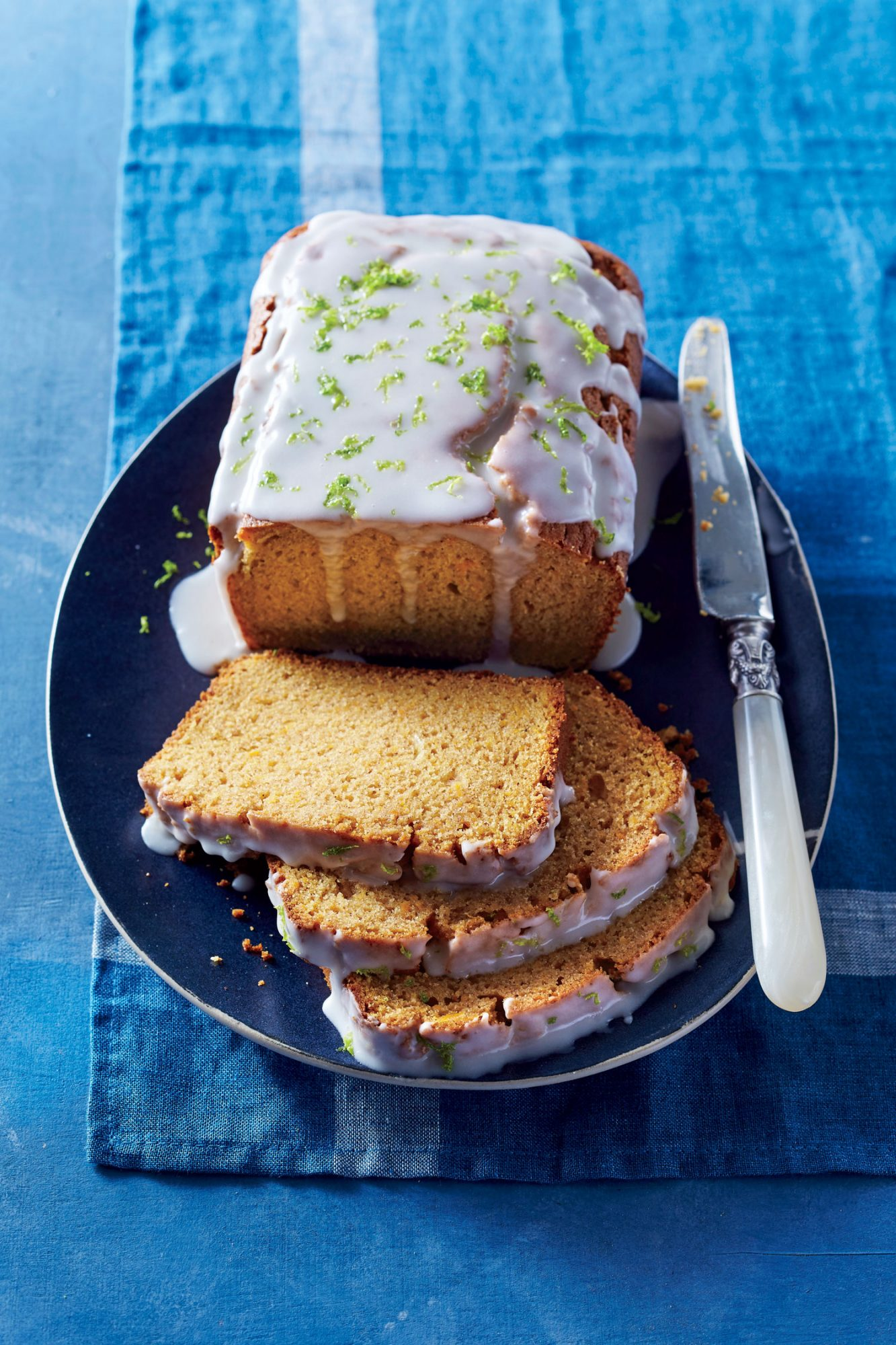 Sweet Potato Bread with Buttermilk-Lime Icing