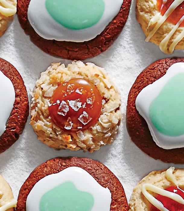 Coconut Thumbprints with Dulce de Leche image