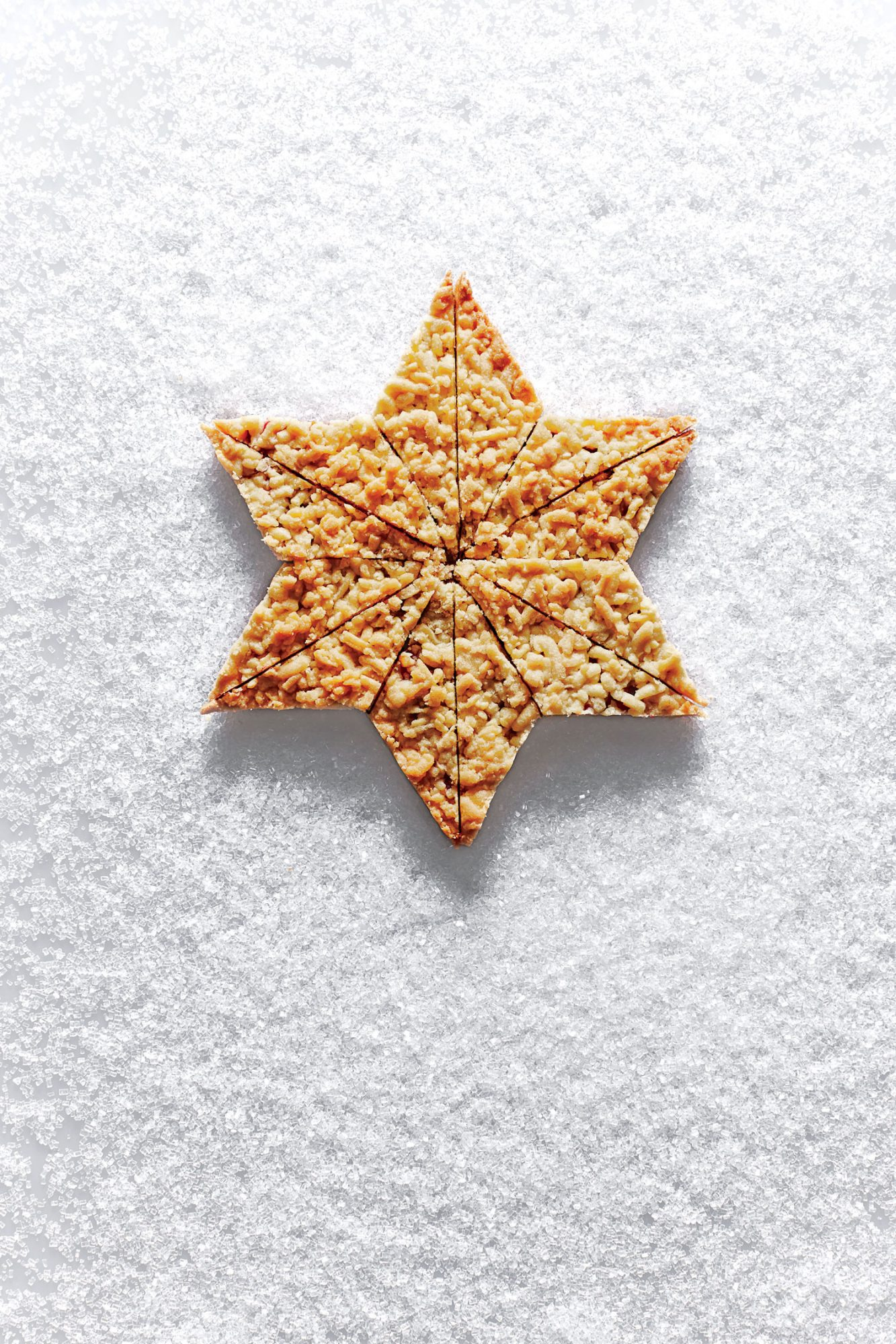 Cranberry Shortbread Bars image