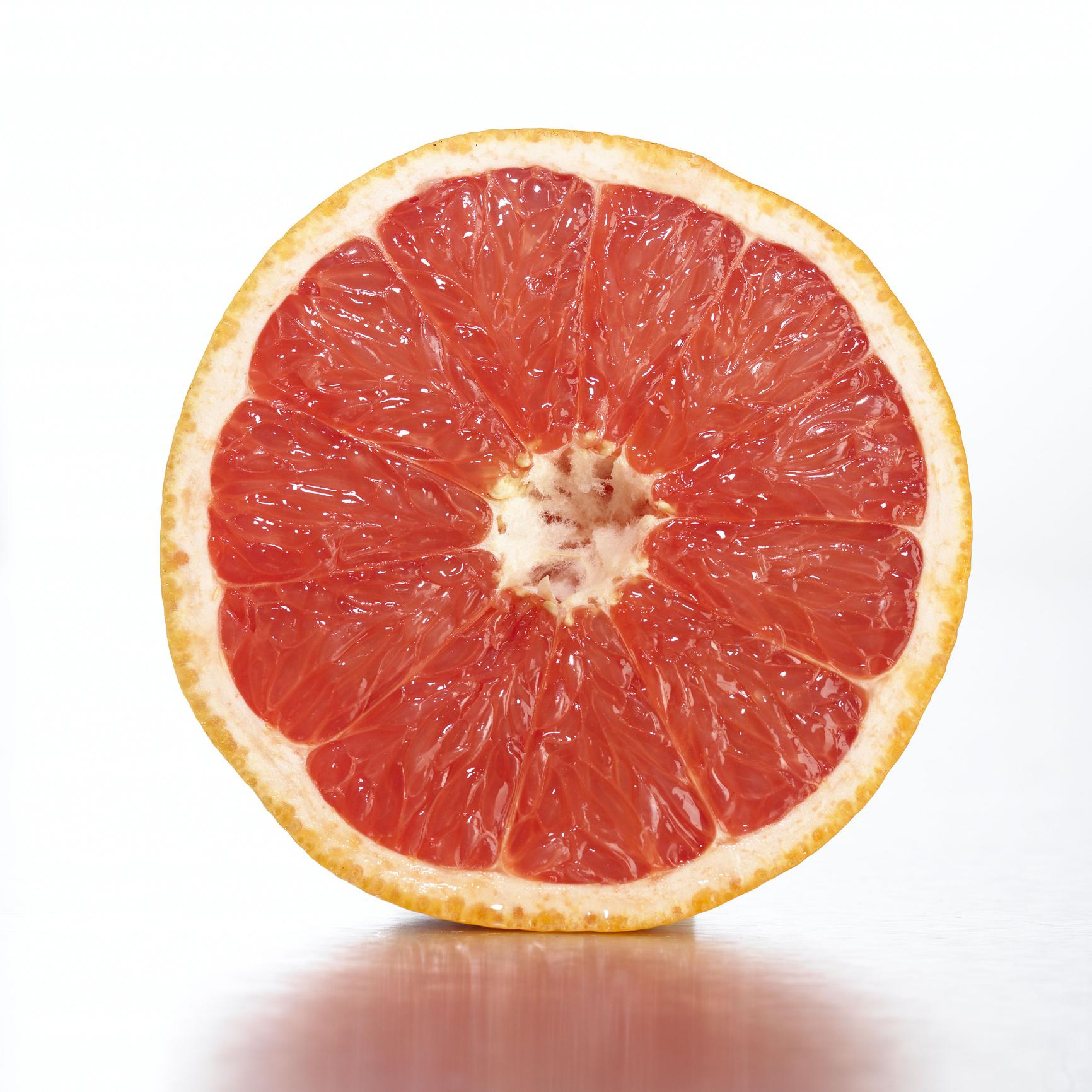 Grapefruit half image