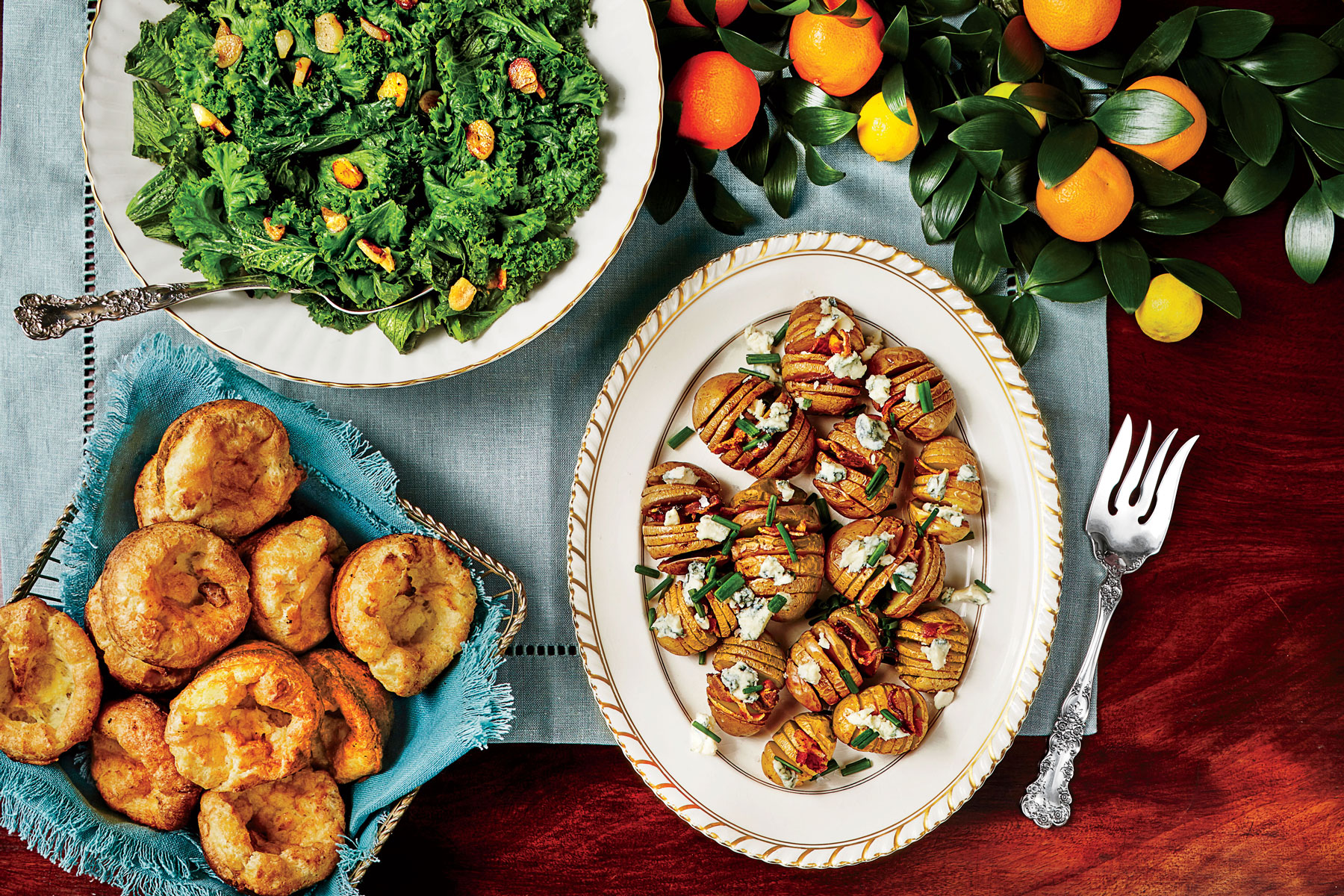 Cornmeal Popovers image