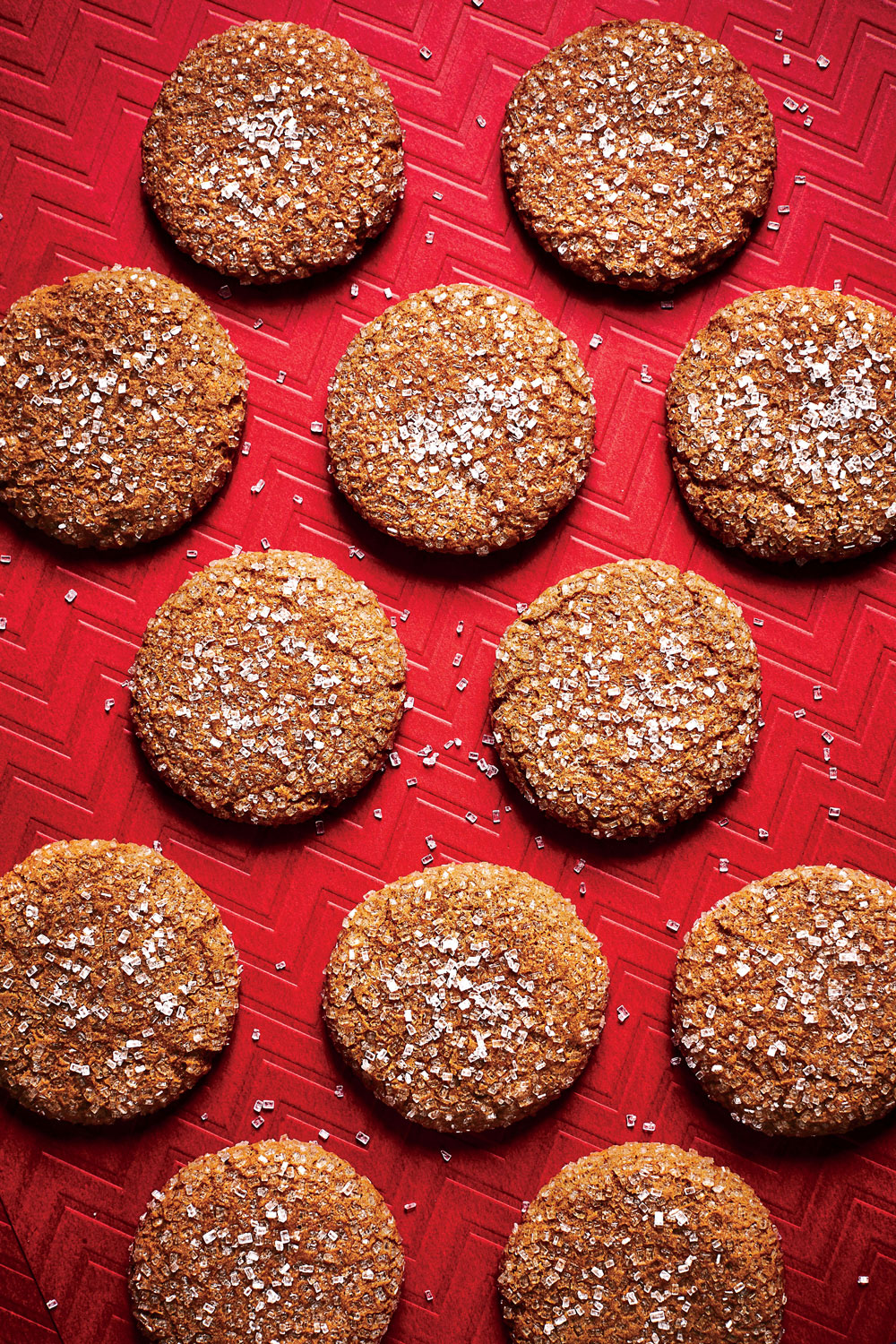 Spiced Molasses Drops image