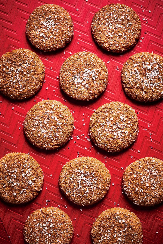 Spiced Molasses Drops image