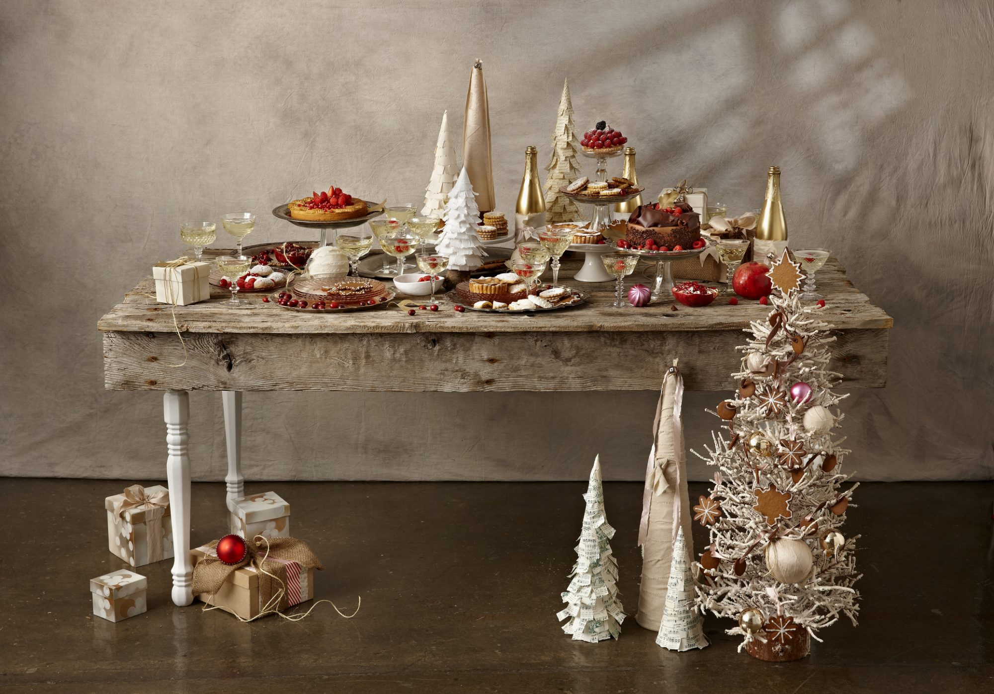 Holiday entertaining food bar image