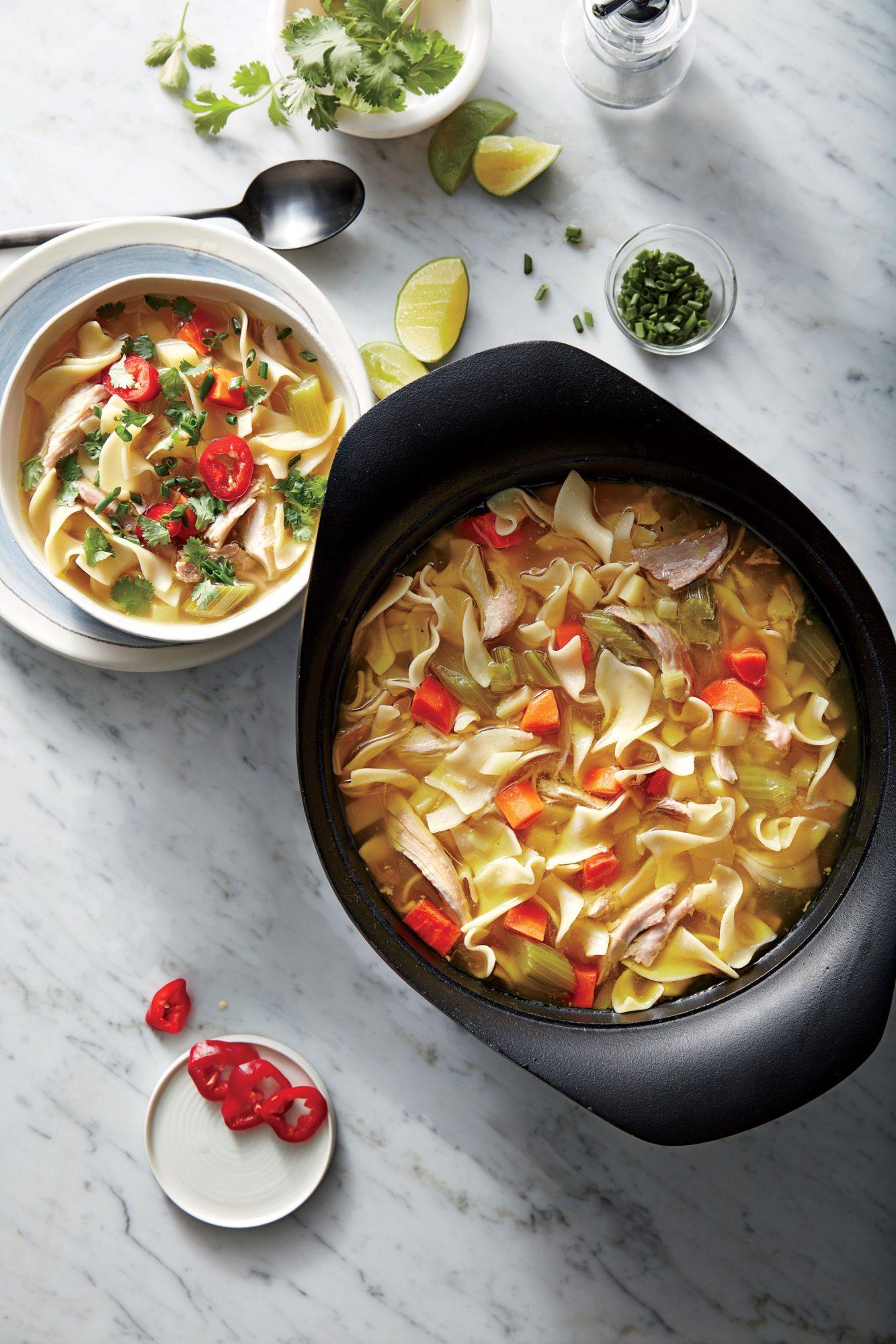 Caldo de Gallina (Peruvian Hen Soup) image