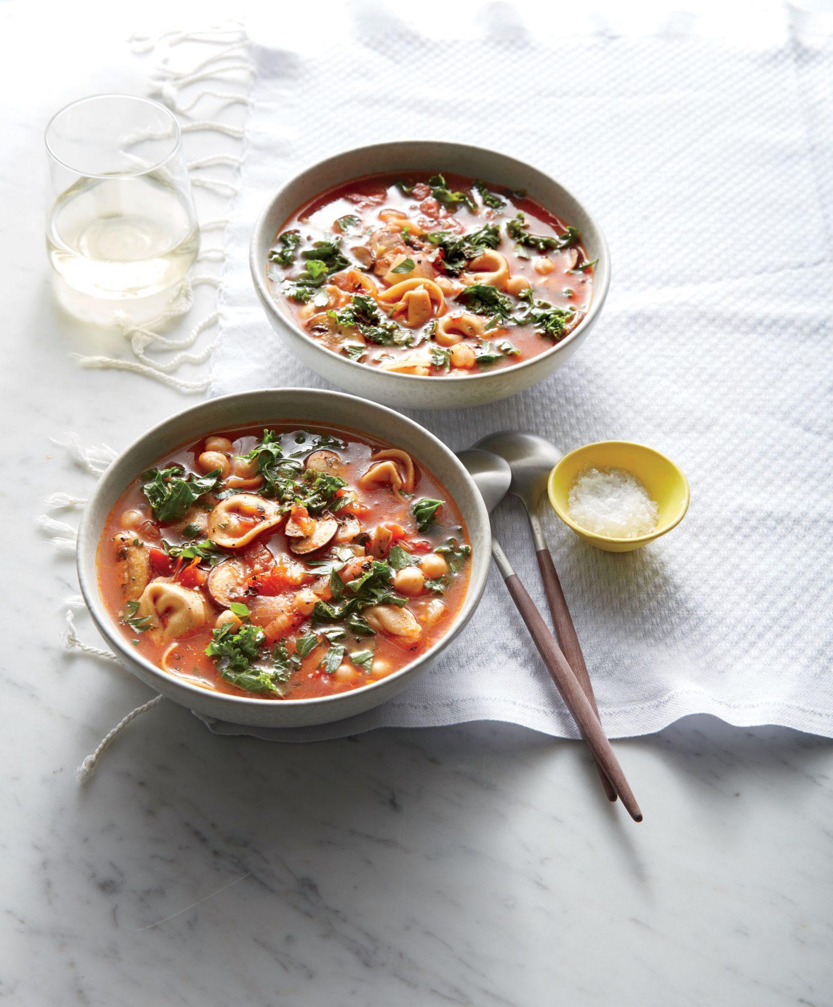 Hearty Tortellini Soup image