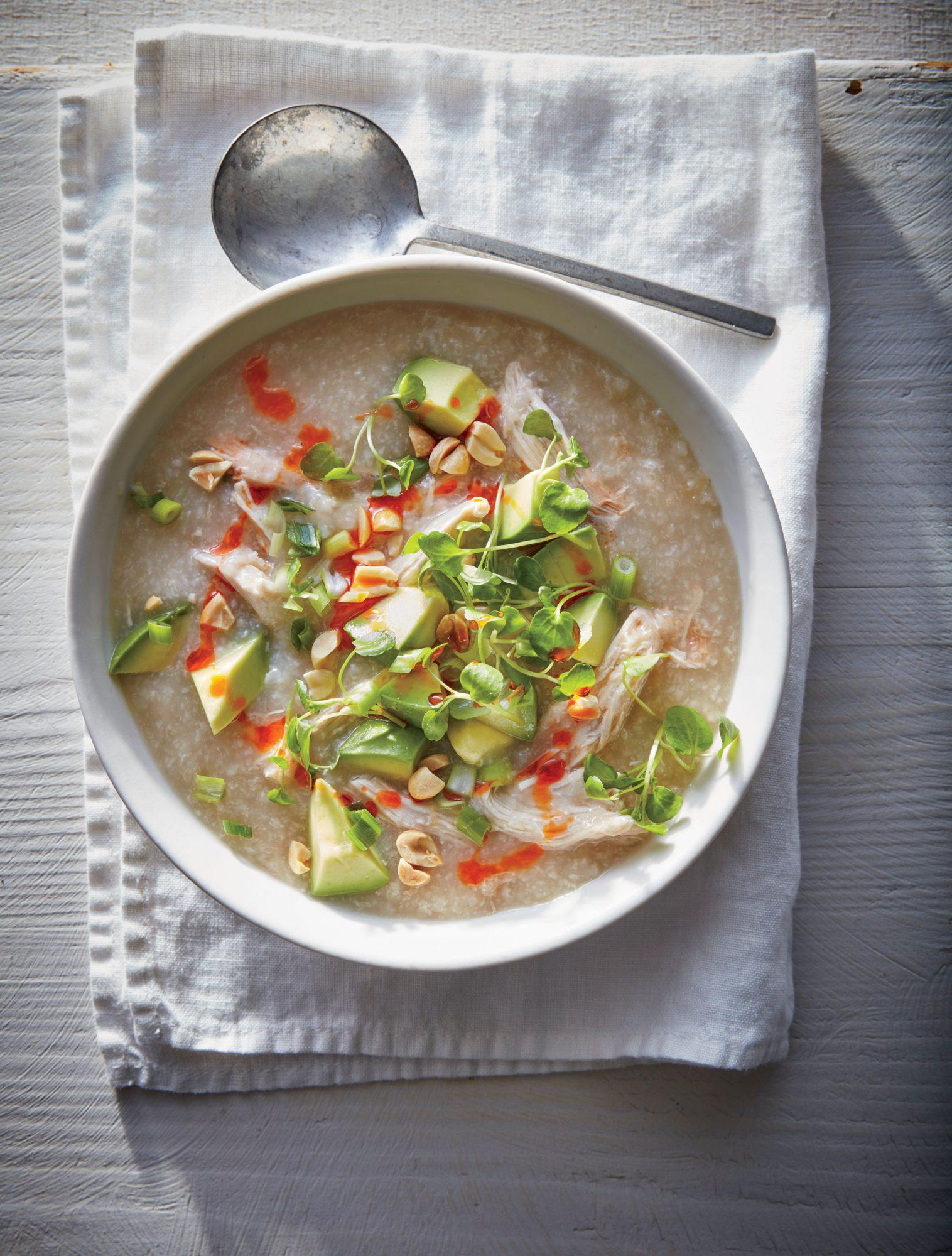 Slow Cooker Chcken Congee image