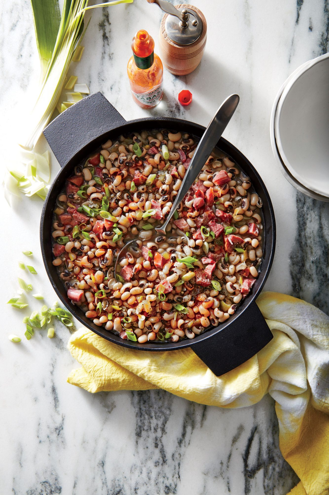 Why We Eat Black-Eyed Peas and Greens on New Year's Day