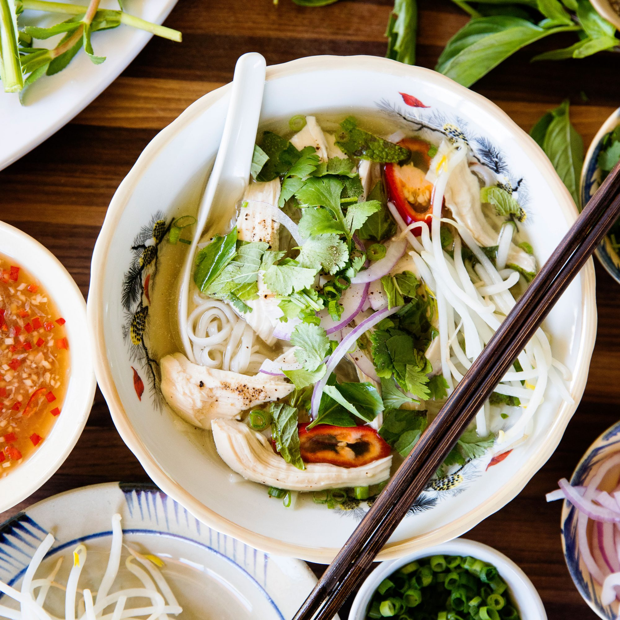 Pressure Cooker Chicken Pho
