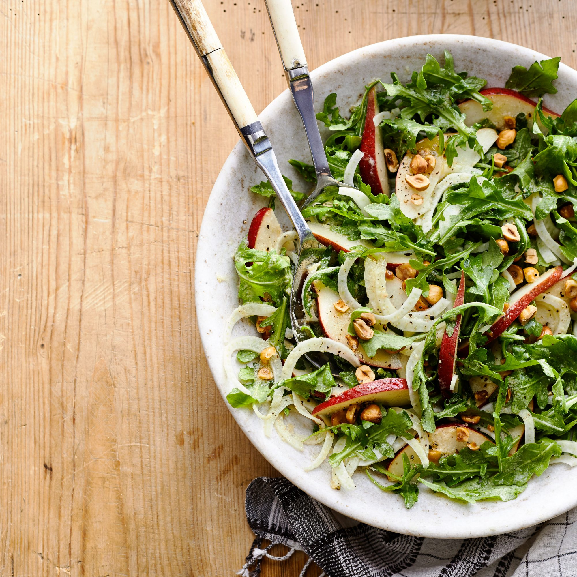 Red pear salad with lemon parmesan dressing recipe myrecipes for Southern living login
