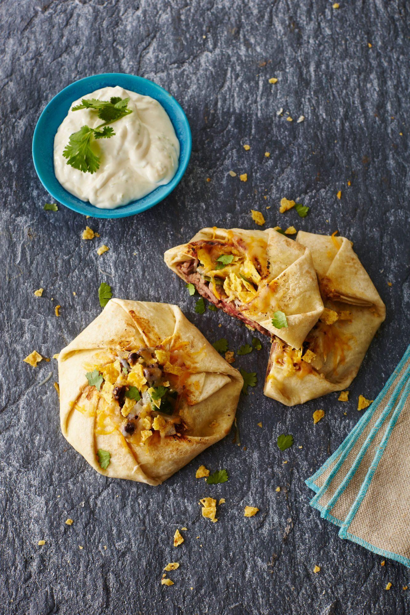 Crunchy Roast Beef Quesadilla Wraps image