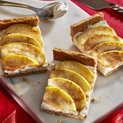 Nabisco Toffee Apple Cheesecake Bars [Ad]
