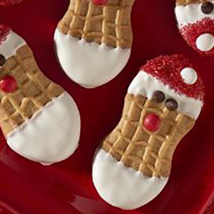 Nabisco NUTTER BUTTER Santas [Ad]