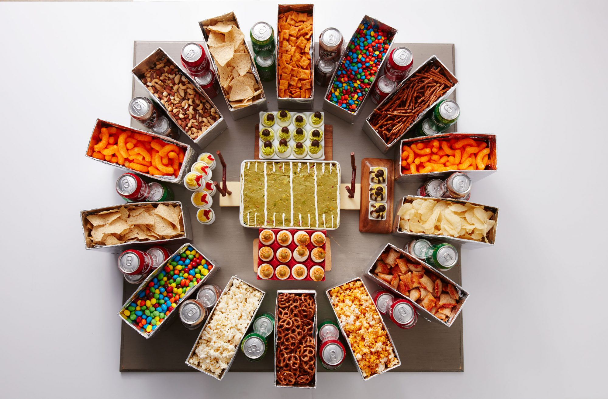 The Ultimate Edible Stadium