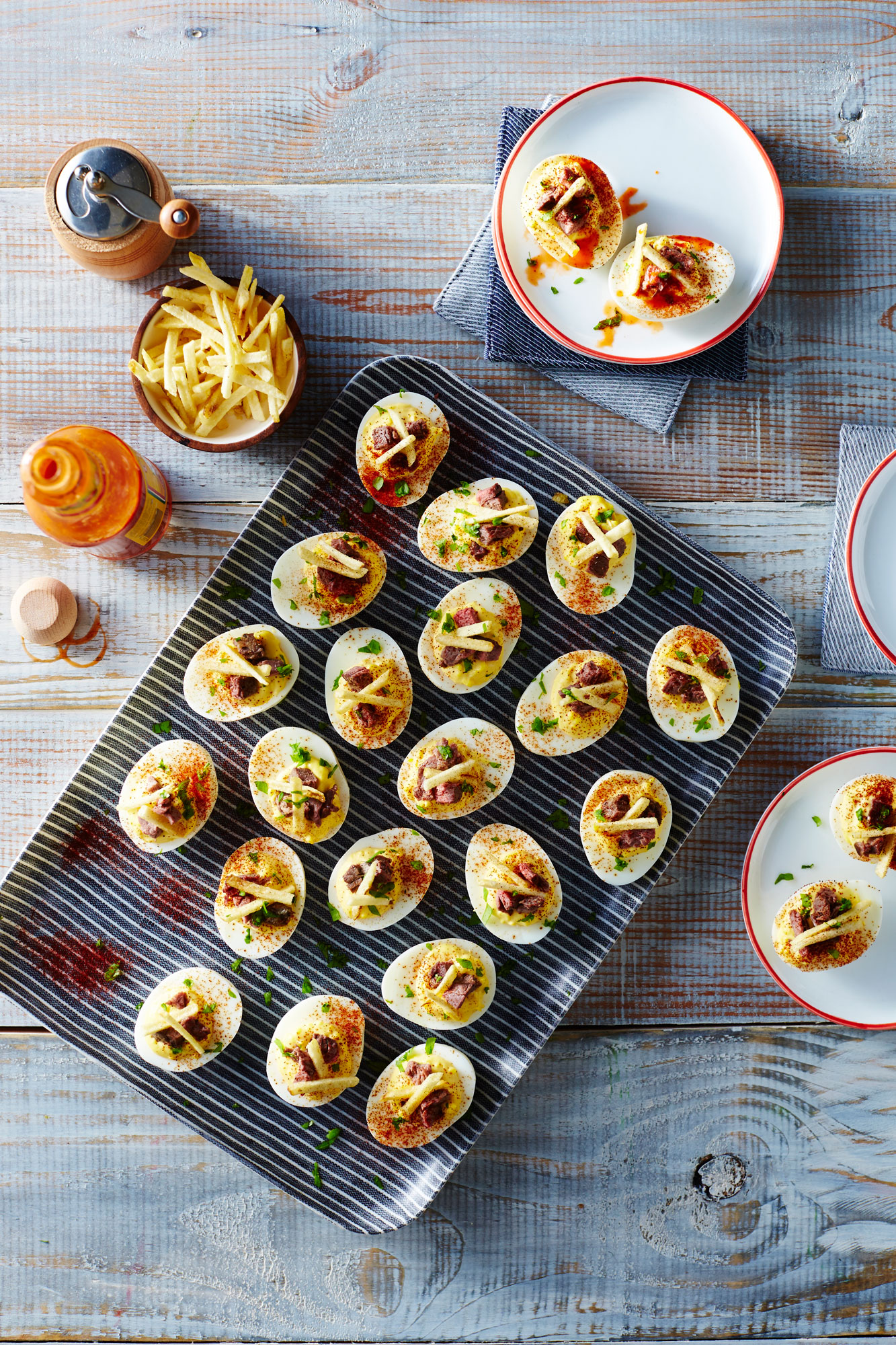 Steak and Deviled Eggs image